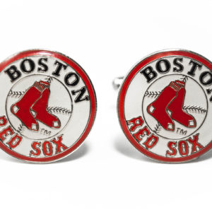 Boston Red Sox Cufflinks Wedding K Featured