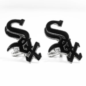 Chicago White Sox Cufflinks Wedding K Featured