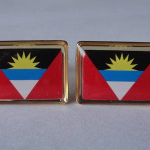 Antigua and Barbuda Cufflinks Featured