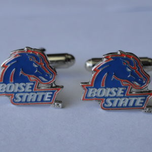Boise State University Cufflinks Featured
