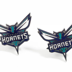 Charlotte Hornets Cufflinks Wedding K Featured