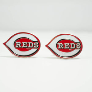 Cincinnati Reds Cufflinks Wedding K Featured