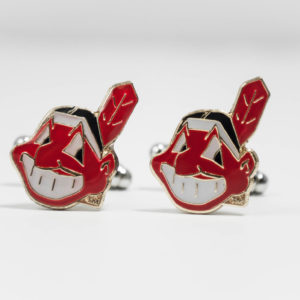 Cleveland Indians Cufflinks Wedding K Featured