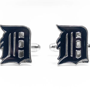 Detroit Tigers Cufflinks Wedding K Featured