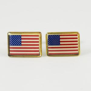 USA Flag Cufflinks Wedding K Featured United States American