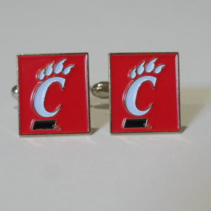 University of Cincinnati Cufflinks Featured