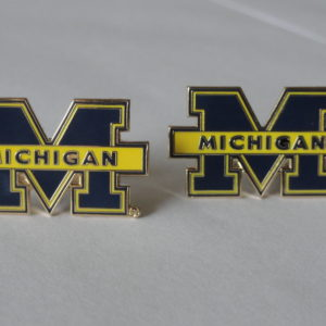 University of Michigan Cufflinks Featured