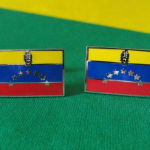 Venezuelan Flag Cufflinks Featured