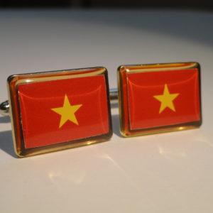 Vietnam Cufflinks Featured