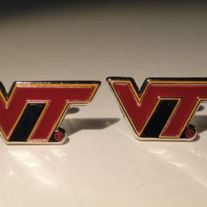 Virginia Tech University Cufflinks Featured