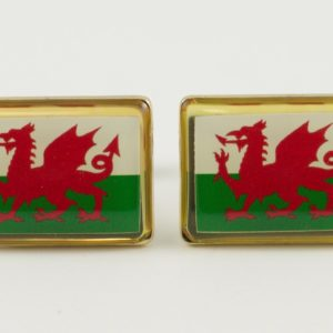 Wales Welsh Flag Cufflinks Wedding K Featured