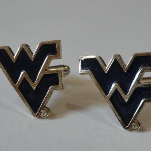 West Virginia University Cufflinks Featured