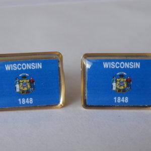 Wisconsin Cufflinks Featured