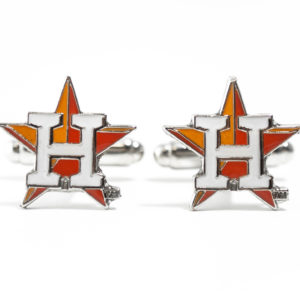 Houston Astros Cufflinks Wedding Featured K