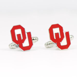 Oklahoma University Cufflinks Wedding Featured 2