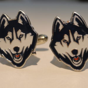 UCONN Cufflinks Wedding Featured