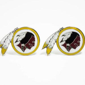 Washington Redskins Cufflinks Wedding K Featured