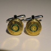 7.62x51mm NATO Ammo Cuff Links Wedding K