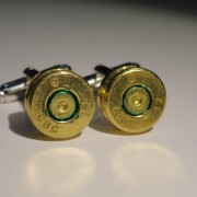 7.62x51mm NATO Ammo Cufflinks Wedding K Military