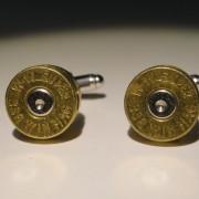 .338 Win Mag Ammo Cufflinks Wedding K Winchester Super Magnum