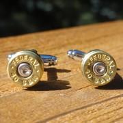 .40 Caliber Ammo Cuff Links Wedding K