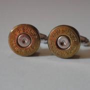 .44 Magnum Caliber Ammo Cuff Links Wedding K