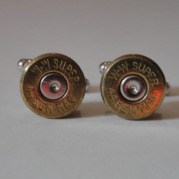 .44 Magnum Caliber Ammo Cufflinks Wedding K Featured