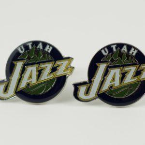 Utah Jazz Cufflinks Wedding K Featured
