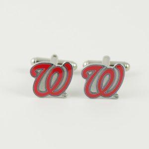 Washington Nationals MLB Cufflinks Wedding K Featured