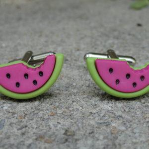 Watermelon Cufflinks Wedding K Featured