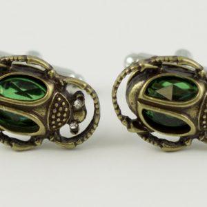 Scarab Egyptian Dung Beetle Cufflinks Wedding K featured