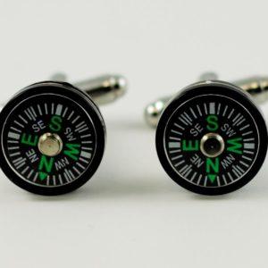 Smaller Magnetic Compass Cufflinks Wedding K Featured