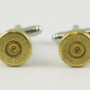 Winchester .45 Colt Caliber Ammo Cufflinks Wedding K Featured