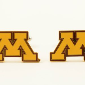 University of Minnesota Gophers NCAA College Cufflinks Wedding Featured S