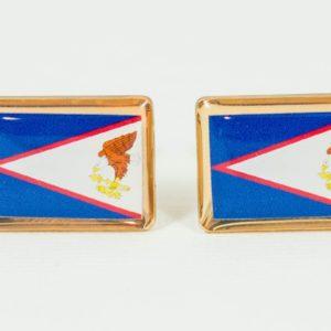American Samoa Flag Cufflinks Wedding S Featured