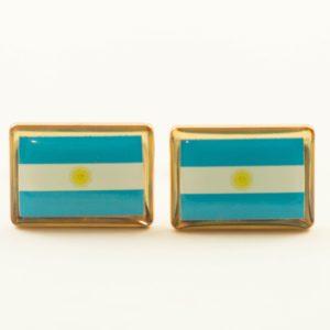 Argentina Argentine Argentinian Flag Cufflinks Wedding Featured S
