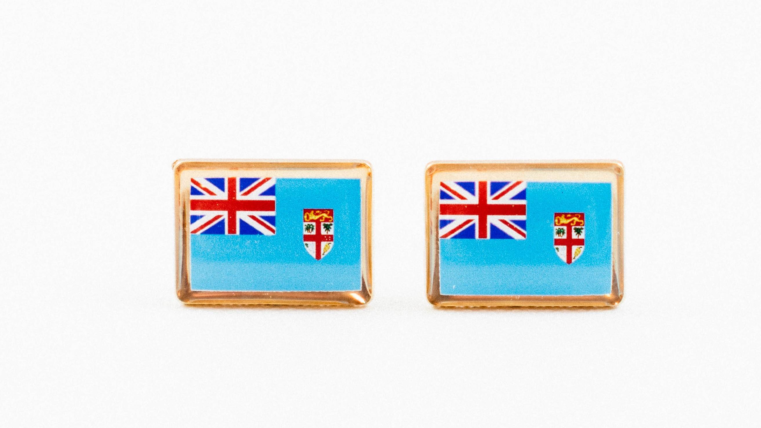 Fiji Flag Cufflinks