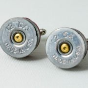 12 Gauge Shotgun Shell Ammo Cufflinks Wedding S