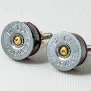 Twelve Gauge Shotgun Shell Ammo Cufflinks Wedding S