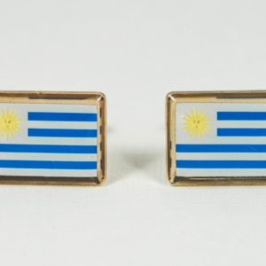 Uruguay Uruguayan Flag Cufflinks Wedding S Featured